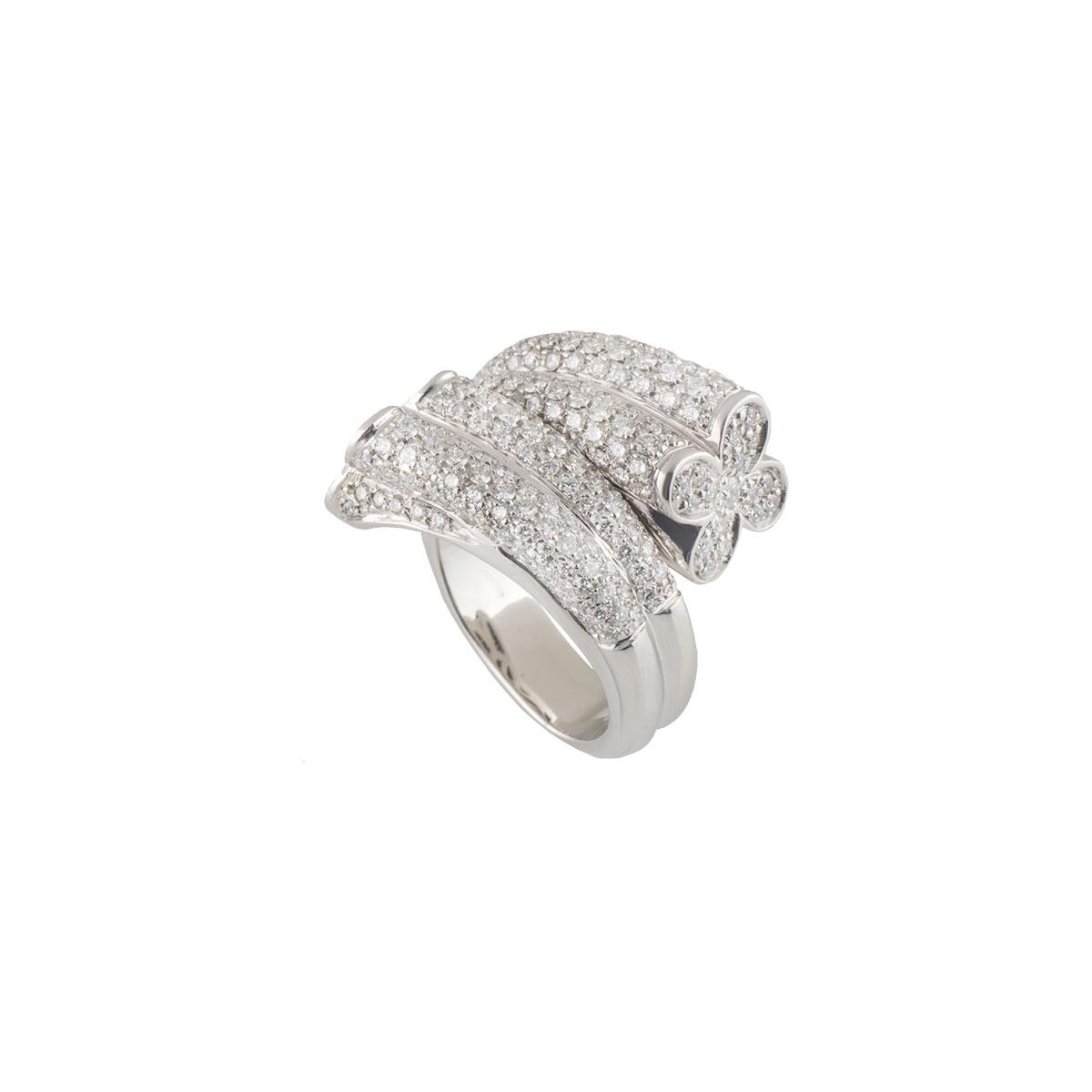 White Gold Diamond Ring 2.44ct G/VS